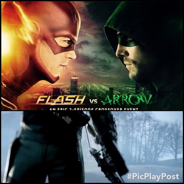 The Arrow & Flash cross over will be over the next two episodes and brought to you by the #cw network! Watch as both Barry Allen and Oliver Queen take on evil! #flash #greenarrow #arrow #dccomics