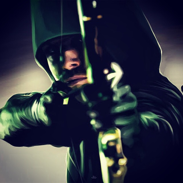 #arrow starts back in 7 Days on the #cw network. Are you excited? #greenarrow #dc