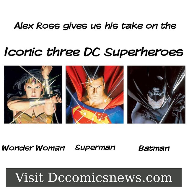 We continue our dedication to the realistic personas that Alex Ross has given us over the years of the DC world. #art #comicart