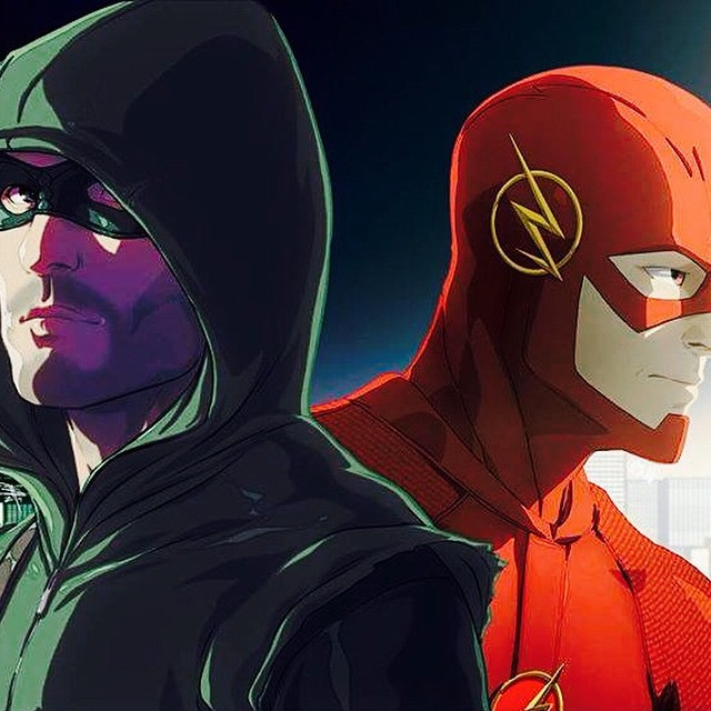 The crossover has begun and will commence with episode 4 of #arrow and #flash #cw #multiverse