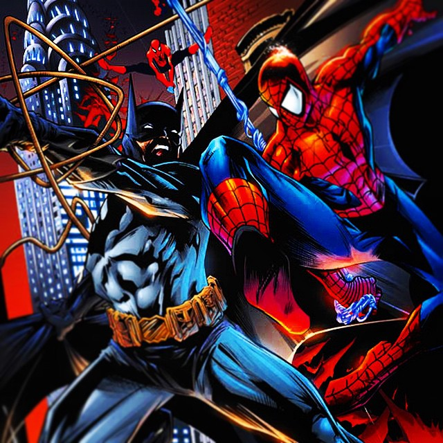 #Batman vs Spider-Man. If the Dark Knight had to cross over to #NYC to investigate a case and had to take on this guy would win and why? Keen to get our fan's feedback. #marvelvsdc
