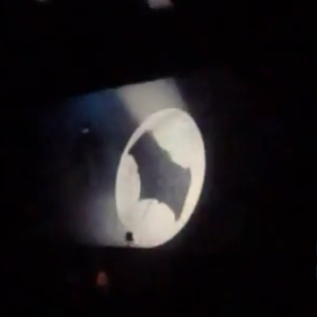 We bring you a small clip of the #Batmanvssuperman dawn of justice preview type was shown at comic con earlier this year. Is #Batman in Metropolis with the bat signal drawing the attention of #superman ?