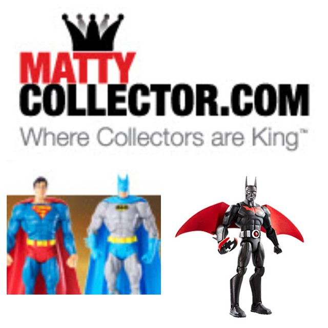 DC Fans, if you collect action figures, limited edition adult toys, them www.mattycollector.com is a site for you. Sign up to their subscription newsletter for free to get the latest news on when new releases are coming out. With remakes of 80s toys, limited edition pieces, and much more it's a great source for any serious collector. #dctoys #batman #superman #boystoys #collector #mattel