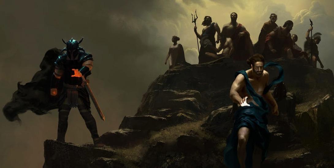 Zeus e Ares