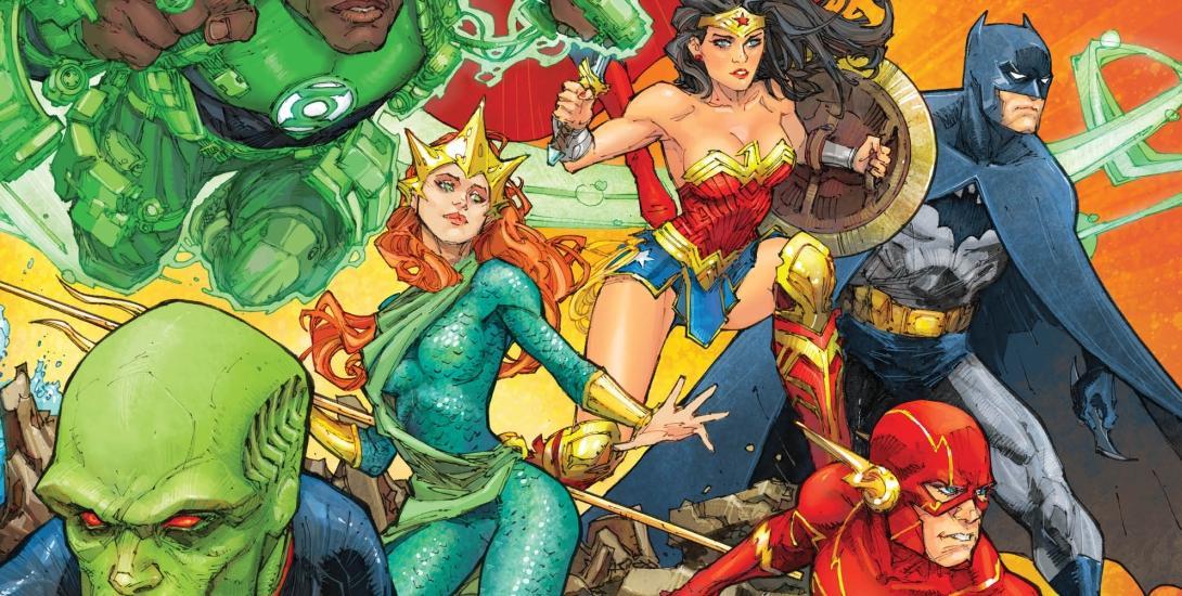 JUSTICE LEAGUE #39 DC COMICS