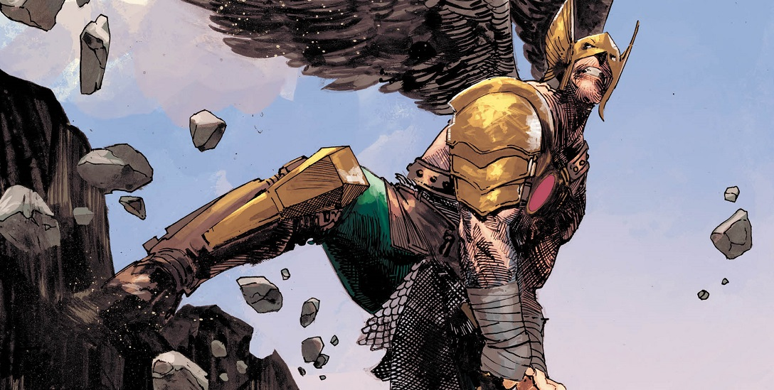 Hawkman #26A Hitch Variant VF 2020 Stock Image